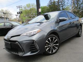 Used 2017 Toyota Corolla XSE|NAVIGATION|LEATHER|SUNROOF|BACK-UP CAM !! for sale in Burlington, ON