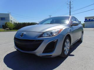 Used 2011 Mazda MAZDA3 *****VOITURE PROPRE*****5 VITESSES***** for sale in St-Eustache, QC