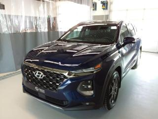 Used 2020 Hyundai Santa Fe Ultimate**CUIR**GPS**2.0 TURBO** DEMO-MAGS+PNEUS HIVER for sale in Val-d'Or, QC