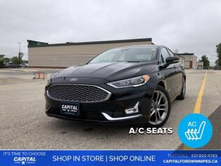 Used 2019 Ford Fusion Hybrid Titanium *Ask About 2.9% Rate for sale in Winnipeg, MB