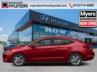New 2020 Hyundai Elantra Essential IVT  - Heated Seats - $124 B/W for sale in Nepean, ON