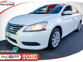 Used 2013 Nissan Sentra *S*AIR*CRUISE*BLUETOOTH* for sale in Québec, QC