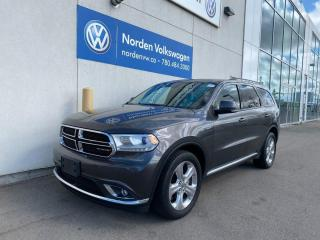 Used 2015 Dodge Durango LIMITED 4WD - LEATHER / DVD'S / SUNROOF for sale in Edmonton, AB