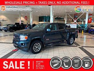 Used 2018 GMC Canyon 4WD All Terrain w/Leather 4x4 Crew Cab Pickup 128.3 in. WB for sale in Richmond, BC