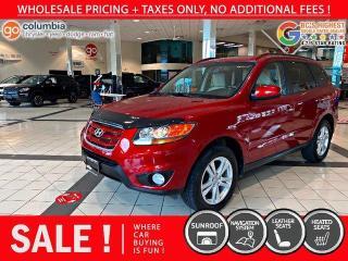 Used 2010 Hyundai Santa Fe Limited w/Navi for sale in Richmond, BC
