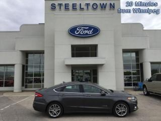 Used 2019 Ford Fusion Hybrid Titanium  - Leather Seats for sale in Selkirk, MB