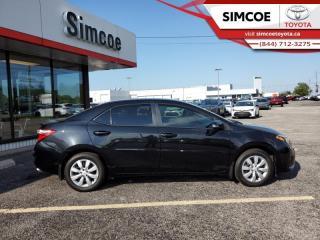 Used 2015 Toyota Corolla S  -  Heated Seats -  Bluetooth - $104 B/W for sale in Simcoe, ON