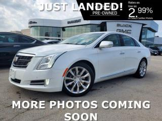 Used 2016 Cadillac XTS Premium AWD | Panoramic Sunroof | Cooled Seats for sale in Winnipeg, MB