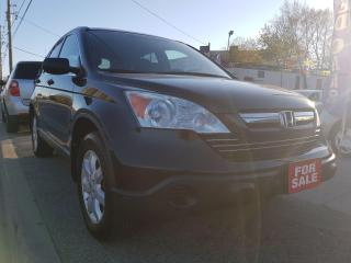 Used 2009 Honda CR-V EX-EXTRA CLEAN-SUNROOF-2 YEARS WARRANTY-AUX-ALLOYS for sale in Scarborough, ON