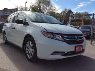 Used 2016 Honda Odyssey SE-EXTRA CLEAN-8 SEATS-BK UP CAM-BLUETOOTH-ALLOYS for sale in Scarborough, ON