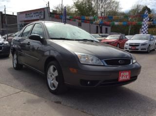 Used 2007 Ford Focus S-ONE OWNER-EXTRA CLEAN-4 CYL-ALLOYS for sale in Scarborough, ON