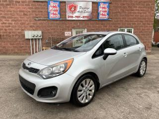 Used 2013 Kia Rio EX/1.6L/SUNROOF/SAFETY+WARRANTY INCLUDED for sale in Cambridge, ON