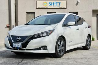 Used 2018 Nissan Leaf SV NAVIGATION, ALL WEATHER PACKAGE, TECH PACKAGE for sale in Burlington, ON