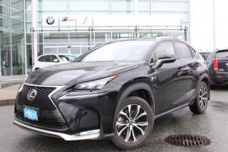 Used 2017 Lexus NX 200t 6A for sale in Langley, BC