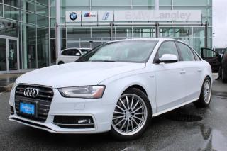 Used 2013 Audi S4 3.0T Prem S tronic qtro for sale in Langley, BC