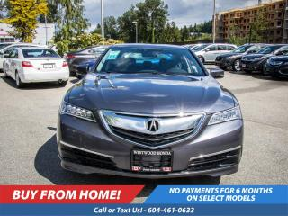 Used 2017 Acura TLX Tech for sale in Port Moody, BC