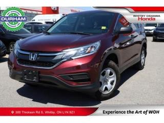 Used 2016 Honda CR-V AWD 5dr LX for sale in Whitby, ON