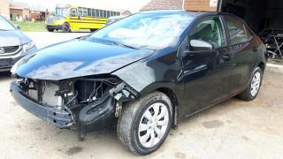 Used 2014 Toyota Corolla LE automatique accidenté facile à répare for sale in St-Henri-de-Levis, QC