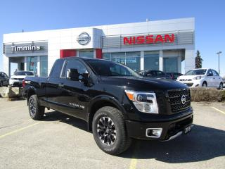 Used 2018 Nissan Titan Pro-4X for sale in Timmins, ON
