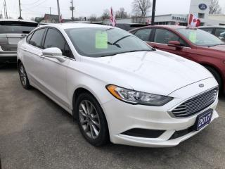 Used 2017 Ford Fusion SE for sale in Brockville, ON