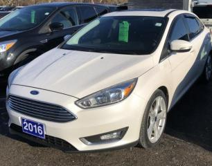 Used 2016 Ford Focus Titanium for sale in Brockville, ON