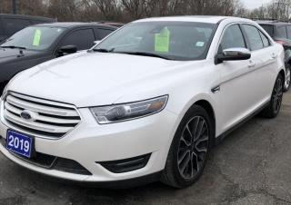 Used 2019 Ford Taurus LIMITED for sale in Brockville, ON
