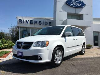 Used 2016 Dodge Grand Caravan Crew for sale in Brockville, ON