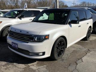 Used 2018 Ford Flex limited for sale in Brockville, ON