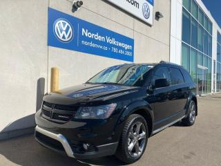 Used 2016 Dodge Journey CROSSROAD AWD - LEATHER / SUNROOF / LOADED for sale in Edmonton, AB
