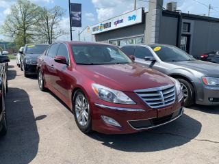 Used 2013 Hyundai Genesis **LIMITED**TECH PKG*SUNROOF*REARVIEW CAM*NAVI** for sale in Hamilton, ON