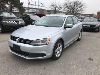 Used 2014 Volkswagen Jetta COMFORTLINE,1.8L,AUTO,SAFETY+3YEARS WARANTY INCLUD for sale in Toronto, ON
