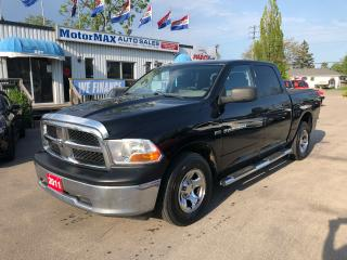 Used 2011 RAM 1500 ST-CREW CAB-4X4-ACCIDENT FREE for sale in Stoney Creek, ON
