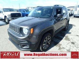 Used 2017 Jeep Renegade North 4D Utility 4WD 2.4L for sale in Calgary, AB