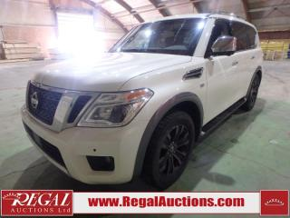Used 2017 Nissan Armada Platinum Edition 4D Utility 4WD 5.6L for sale in Calgary, AB
