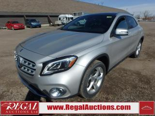 Used 2018 Mercedes-Benz GLA GLA250 4D UTILITY AWD 2.0L for sale in Calgary, AB