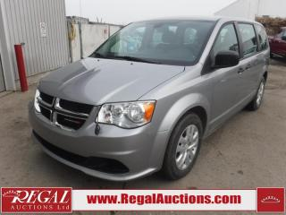 Used 2018 Dodge Grand Caravan CVP Wagon 3.6L for sale in Calgary, AB