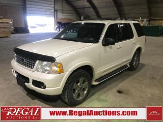 Used 2003 Ford Explorer Limited 4D Utility 4WD for sale in Calgary, AB