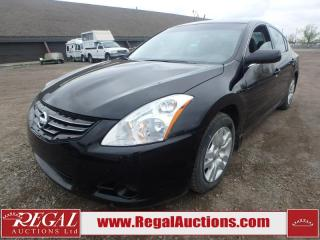 Used 2012 Nissan Altima S 4D Sedan AT 2.5L for sale in Calgary, AB