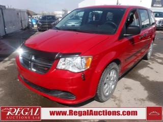 Used 2015 Dodge Grand Caravan CVP Wagon 3.6L for sale in Calgary, AB