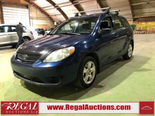 Used 2005 Toyota Matrix Base 4D Hatchback for sale in Calgary, AB