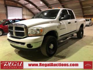 Used 2006 Dodge Ram 3500 SLT 4D CREW CAB 4WD for sale in Calgary, AB