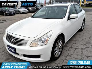 Used 2009 Infiniti G37 X for sale in Hamilton, ON