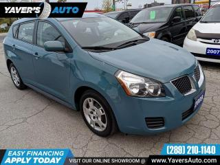 Used 2009 Pontiac Vibe w/1SB for sale in Hamilton, ON
