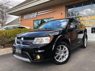Used 2016 Dodge Journey AWD R-T Heated Seats Remote Starter Certified* for sale in Concord, ON