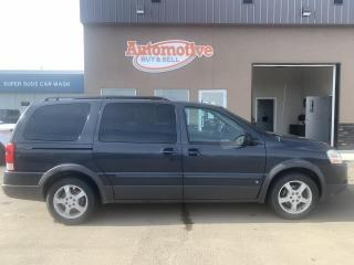 Used 2008 Pontiac Montana Sv6 FWD for sale in Stettler, AB