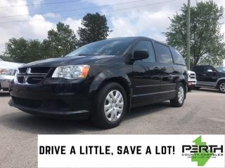 Used 2016 Dodge Grand Caravan SE | Power Heated Mirrors | Cloth Bucket Seats | A for sale in Mitchell, ON