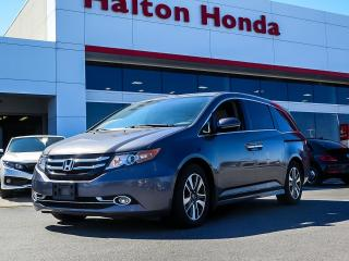 Used 2016 Honda Odyssey Touring|SERVICE HISTORY ON FILE|ACCIDENT FREE for sale in Burlington, ON