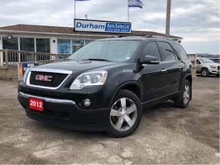 Used 2012 GMC Acadia SLT1 for sale in Whitby, ON