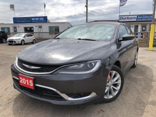 Used 2015 Chrysler 200 C for sale in Whitby, ON