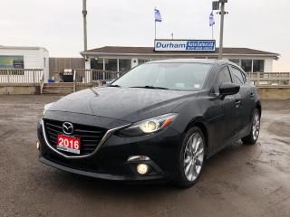 Used 2016 Mazda MAZDA3 GT for sale in Whitby, ON